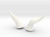 Horns Twist Vine: SD horns pointing Sideways 3d printed