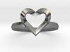 Heartstrings Ring (US 6) 3d printed