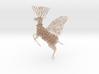 Ludic Deer Pendant 3d printed