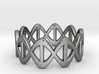 DNA Ring - Size 7 3d printed