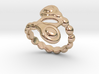 Spiral Bubbles Ring 15 - Italian Size 15 3d printed
