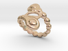 Spiral Bubbles Ring 17 - Italian Size 17 3d printed