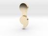 Semicolon Pendant 3d printed