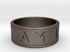 I AM  | AM I Ring - Size 10 3d printed