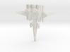Galaxy Alliance Earth Warship 3d printed