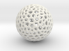 DRAW geo - sphere polygons B 3d printed