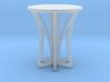 Rocking stool miniature 3d printed
