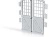 Main Doors DSP&P Gunnison Roundhouse 3d printed