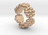 New Flower Ring 19 - Italian Size 19 3d printed