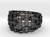 Woven Ring One 3d printed