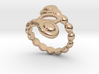 Spiral Bubbles Ring 33 - Italian Size 33 3d printed