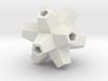 Urchin Polyhedron Pendant 3d printed