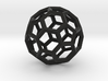 17cm-Truncated Icosahedron-Archimedes09-Polyhedron 3d printed