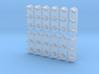 N Scale (1:160) Dwarf Signal 3 Light 3d printed