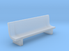 N Scale Bench 3d printed