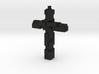 Block Cross 3d printed