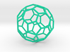 0478 Truncated Icosahedron E (6.2 см) #002 3d printed