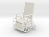 1:24 Vintage Wheelchair 3d printed