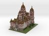 Minecraft Victorian Mansion 3d printed