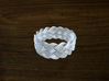 Turk's Head Knot Ring 5 Part X 15 Bight - Size 10. 3d printed