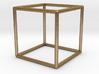 Cube Geometric Pendant 3d printed
