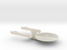 USS Premire 1/2500 scale starship 3d printed