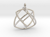 TETRAHEDRON STAR Earrings Nº1 3d printed