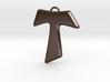 Tau Cross Pendant 3d printed