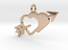 Love Arrow Pendant - Amour Collection 3d printed
