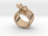 Love Forever Ring 16 - Italian Size 16 3d printed