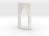 building detail series _ Gothic Window ype 0 3d printed
