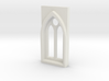 Building details series - Gothic Window 3mm Type 1 3d printed