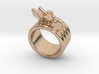 Love Forever Ring 24 - Italian Size 24 3d printed