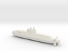 1/600 Dolphin class submarine 3d printed