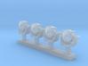 1:350 Scale AN/SPG-55B Illuminator(4x) 3d printed