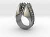 StingRay Ring v3s - Gems - Size 12 3/8 (21.8 mm) 3d printed