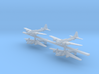 1:700 Scale B-17G Flying Fortresses (4x) 3d printed
