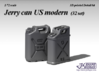1/72 Jerry can US modern (32 set) 3d printed