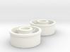 Kyosho Mini-Z Front Wheel +1 Offset 3d printed