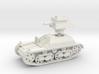 Vickers Light Tank Mk.IIa (15mm) 3d printed