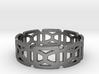 Geometric Ring Design Ring Size 8.5 3d printed