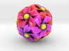 Dodeca Flowers (Small) 3d printed
