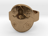 Wotan Cross Shield Ring -Size 8 3d printed