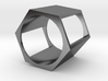 Hex Square Chop Ring 3d printed
