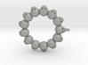 Thirteen Skull pendant 3d printed
