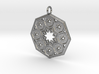 Octagon Star Mandala 3d printed