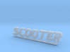 Majestic Scooter Bumper Cars Sign HO 1/87th 3d printed