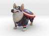 Captain Corgi (America)  3d printed