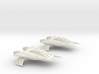 Thunder Fighter Quad 1/200 3d printed