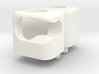 VW Karmann Ghia Type 34 visor clips 3d printed White plastic render